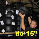 """Uskladnenie pneumatík bez disku os. do 15"""" (sada)"""