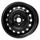 Disk ocel  KFZ  cierny 5,5x15 4x100x54 ET51