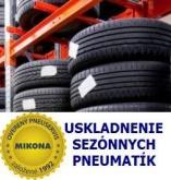 """Uskladnenie osobných pneu do 15"""""""