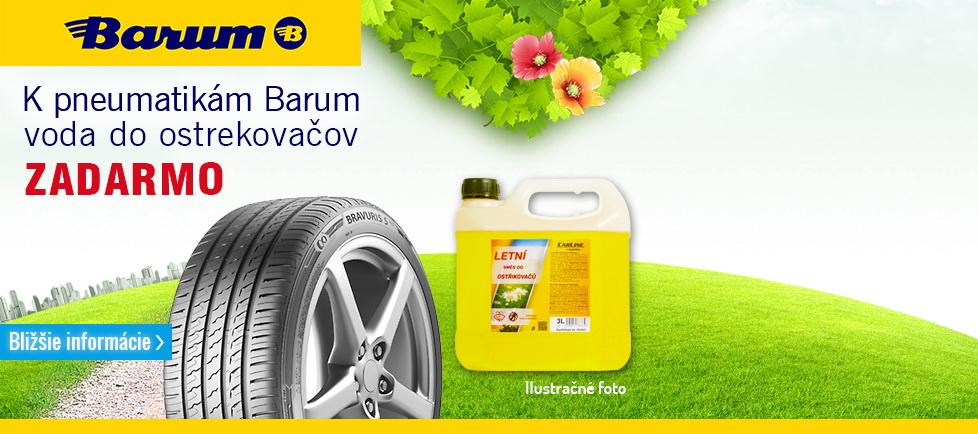 Voda do ostrekovača k pneumatikám Barum(leto)