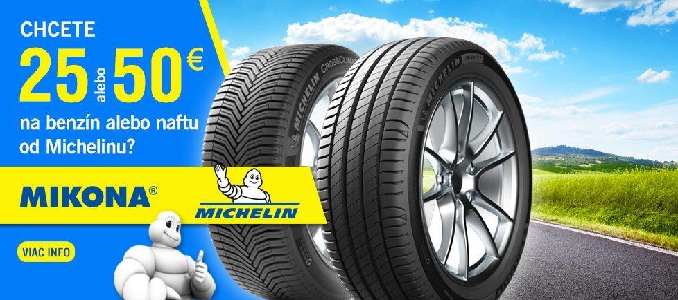 Natankuj s Michelinom